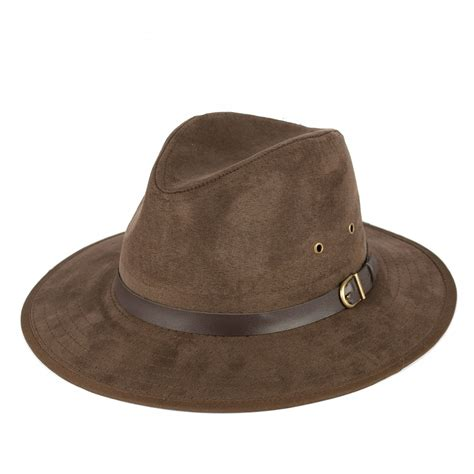 Faux Suede Hat faux suede fedora hat ebay