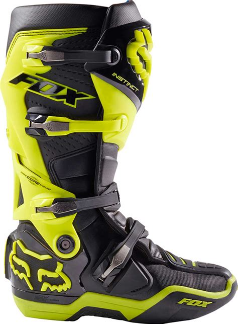 2017 Fox Racing Instinct Boots Mx Atv Motocross Off Road