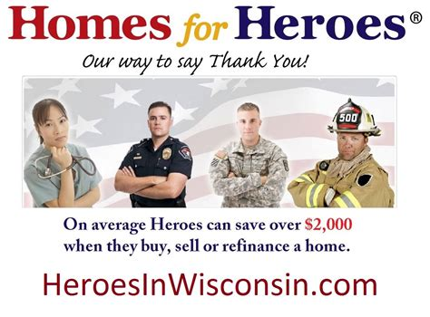 homes for heroes in wisconsin