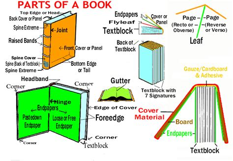 what is a book section anatomy of a book documents delivered