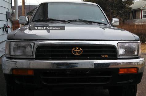 1995 Toyota 4runner Sr5 V6 1995 Toyota 4runner Sr5 V6 4x4