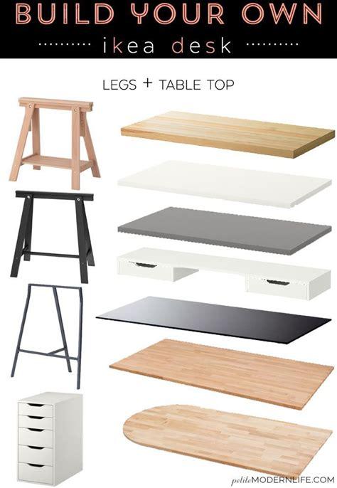 ikea build a desk 25 best ideas about ikea desk on pinterest desks ikea