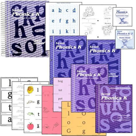 Saxon Phonics And Spelling K Worksheets by Saxon Phonics K Home Study Kit Kindergarten 1565771923