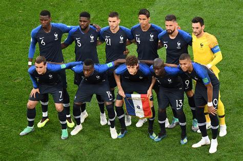 L'équipe de football de la France   CONTRE-PIED L Equipe Football