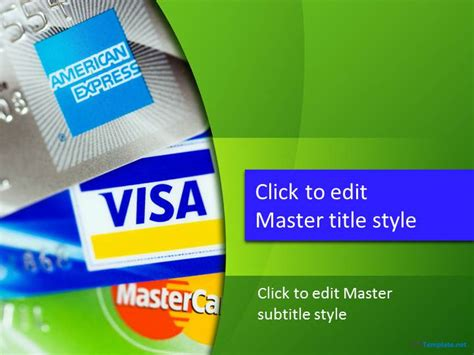 Credit Card Powerpoint Template Free Free Credit Card Ppt Template