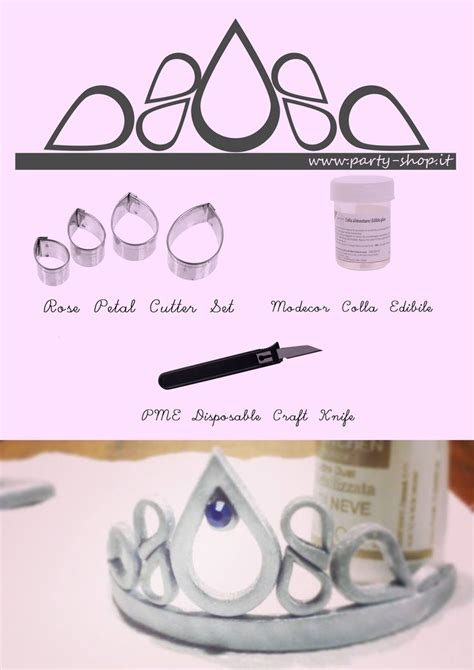 tiara template for cake best 20 fondant crown ideas on