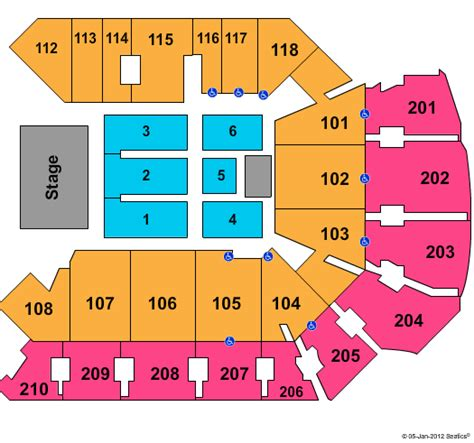 Cfe Arena Box Office by Cirque Du Soleil Tickets Seating Chart Cfe Arena End