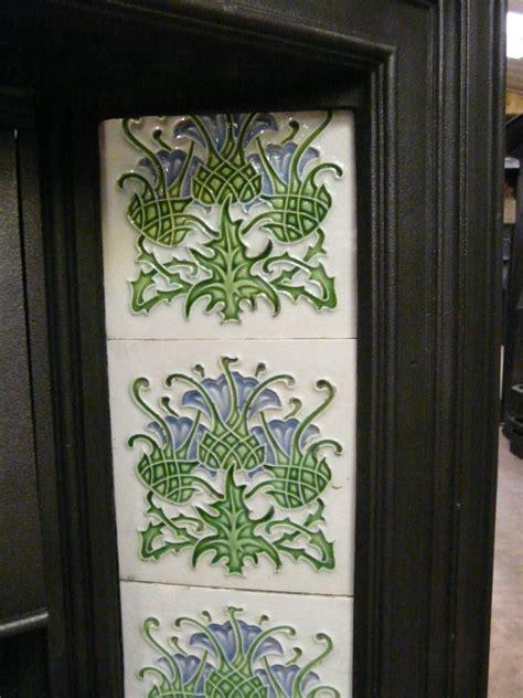 Nouveau Fireplace Tiles by Nouveau Fireplace Tiles