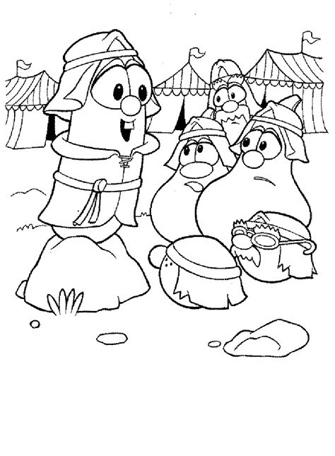 printable coloring pages veggie tales veggietales coloring sheets printable coloring pages