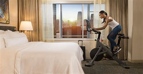 peloton partners with westin hotels resorts to offer in