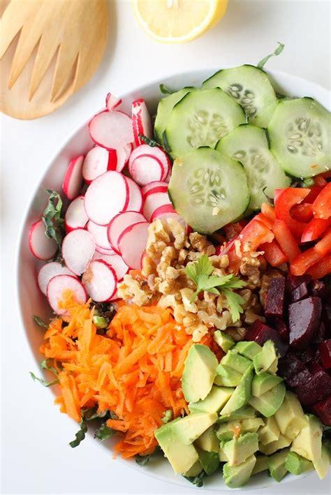 Asparagus Detox Salad by Best 25 Salad Ideas On Easy