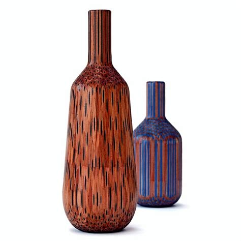 Colored Pencil Vase by Scandinavian Design Decoration Vases Made From Pencils