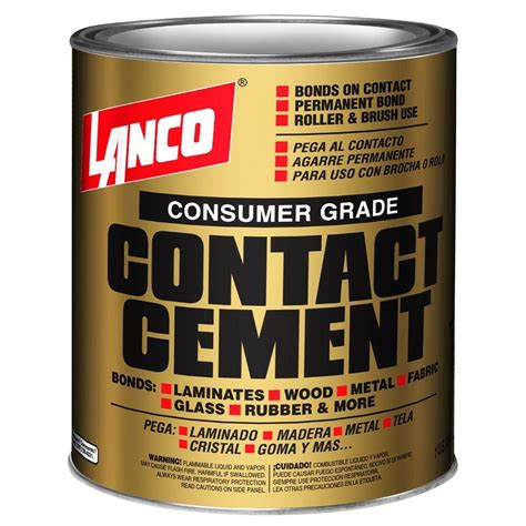 dap weldwood 1 gal non flamable contact cement 203898