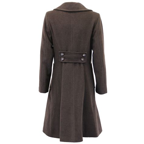 Outer Wear by Wool Coat Womens Jacket Breasted