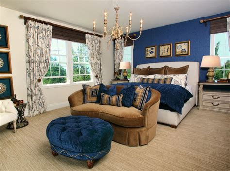 bedroom retreat 20 beautiful bedroom designs with gold and navy accents
