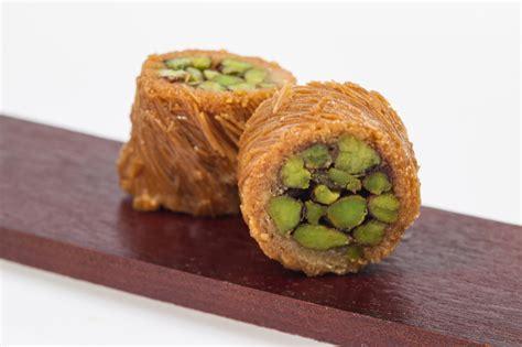 Arabic Sweet Baklava Roll Mixnut baklava lebanon maamoul uae arabic expertise