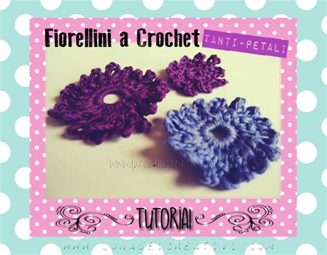 fare un fiore all uncinetto fiore all uncinetto quot tanti petali quot tutorial lunadei