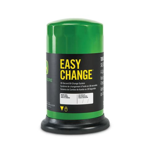 John Deere Home Decor John Deere 30 Second Oil Change System Filter With Oil