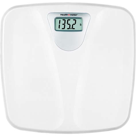 Bathroom Scale by Health 0 Meter Hdl050dq 01 1 Inch Led Wht 330lbs Scale