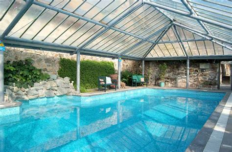 house indoor pool ten cottages with indoor swimming pools