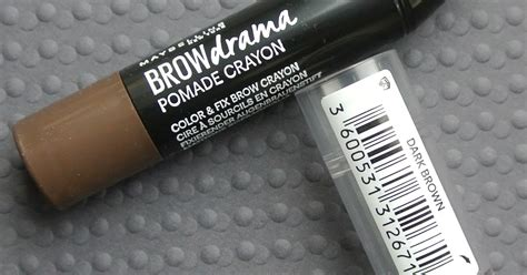 Pomade Nu Line colour by ninni maybelline brow drama pomade crayon