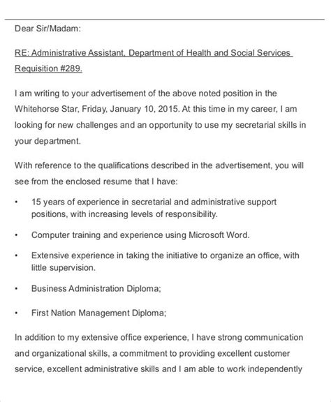 Application Letter Business Administration 43 formal application letter template free premium