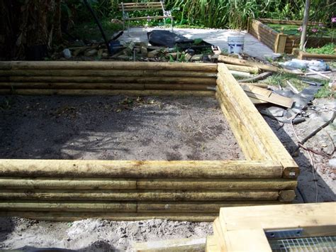 Anchor Landscape Timbers Ground Water Garden No Dig