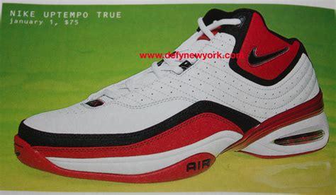 nike basketball shoes 2003 nike uptempo true basketball shoe white black 2003