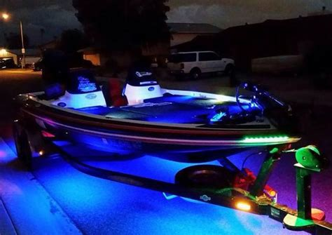 boat trailer underglow 61 best images about bass boat led lighting on pinterest