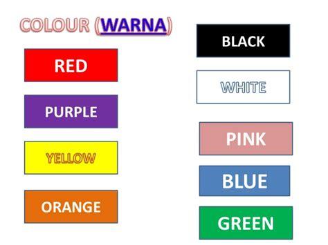 biodata dalam bahasa inggris untuk anak sd colour mengenal warna dalam bahasa inggris untuk anak anak