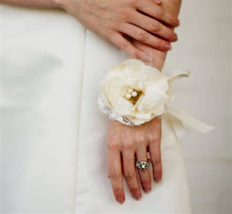 are corsages in style flower wrist corsage vintage style wedding weddings