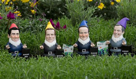 garden gnomes anyone b q s garden gnome party mirror online