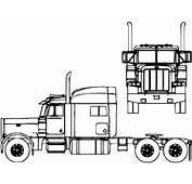 The Blueprintscom  Blueprints &gt Camiones Peterbilt 379