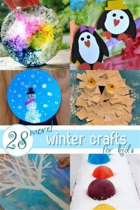 winter kid crafts winter projects for preschoolers www imgkid