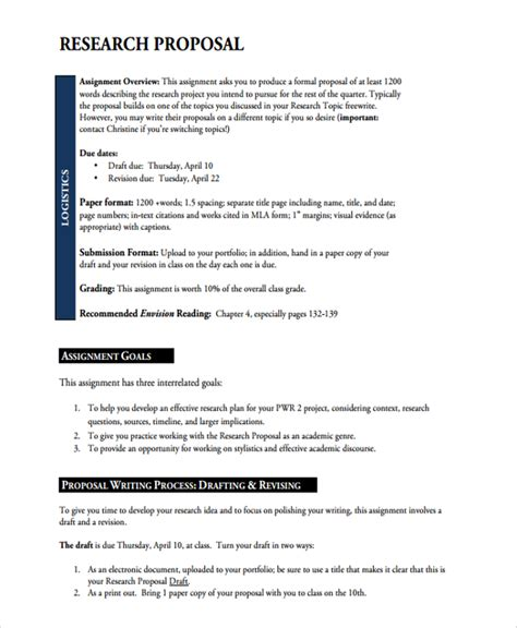 Academic Research Template sle academic template 7 free documents