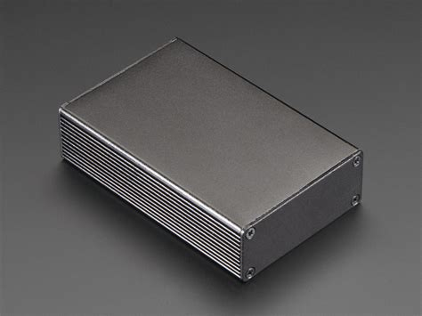 aluminum box extruded aluminum box 100mm x 67mm x 26mm id 2229 7 50 adafruit industries