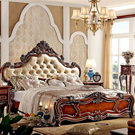 Luxury King Bedroom Sets | european style luxury king size wooden bedroom furniture