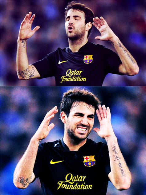 cesc fabregas tattoo footballers tattoos