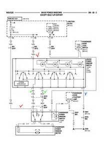 dodge grand caravan power window quit working 12v source regulator