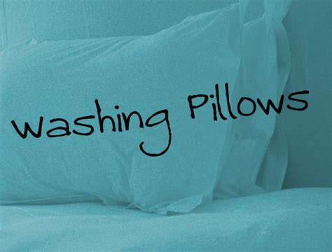 Can A Feather Pillow Be Washed by Domestic Servitude How To Wash Pillows