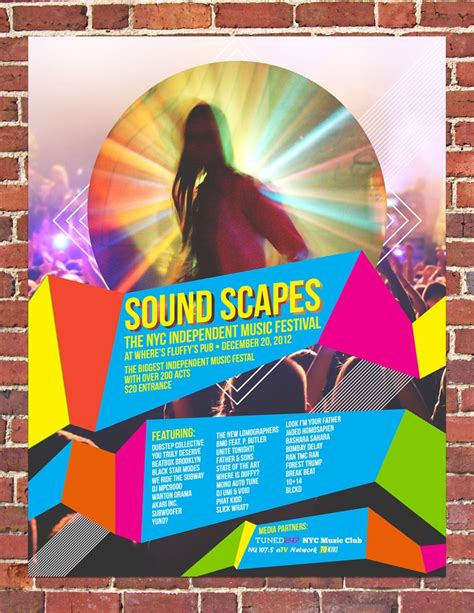 poster design using indesign how to make a simple music festival poster in adobe