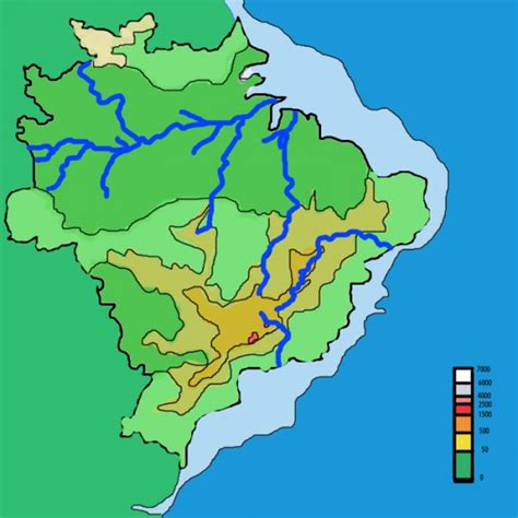 geographical map of brazil what is the geography of brazil map