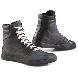 tcx  wave ayakkabi siyah tcx motosiklet botu ayakkabisi