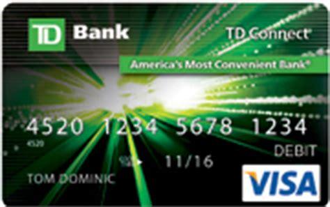 Td Bank Visa Gift Card - td connect reloadable prepaid visa 174 card td bank