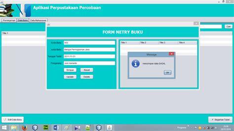 membuat aplikasi android sederhana di netbeans java netbeans tutorial pembuatan aplikasi perpustakaan