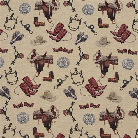 cowboy upholstery fabric j9400bf cowboy themed jacquard upholstery fabric