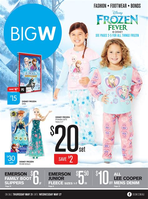 big w catalogue sale and clothing 21 may 2015