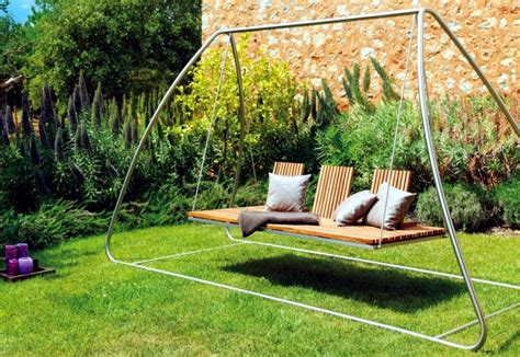 swing design 18 modern garden swing design for garden and terrace