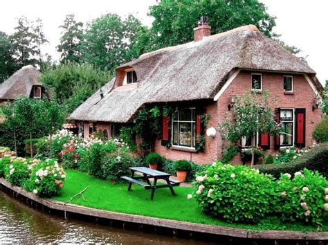 thatch roof cottage architectural magic