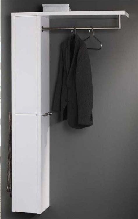 wandschrank 100 cm wandgarderobe mit ablage kleiderstange und wandschrank